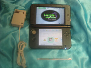 3DS XL Limited Edition Mario & Luigi with Stylus & Charger