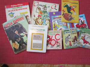 ASSORTED CHILDRENS BOOKS..VINTAGE!