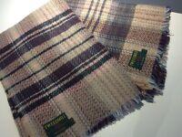 Two identical Tweedmill Wool blankets