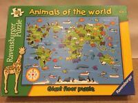 Animals of the world giant floor puzzle / jigsaw