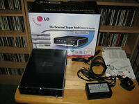 LG GSA-2166D Super-Multi - External DVD±RW (±R DL) DVD/ CD Rewriter Bargain £25ovno