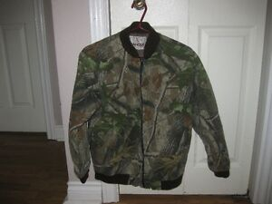 Boy's Army Winter Coat