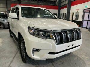 2017 Toyota Landcruiser Prado GDJ150R Kakadu White 6 Speed Sports Automatic Wagon Boolaroo Lake Macquarie Area Preview