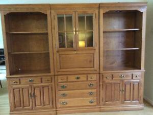 Roxton Three-Piece Wall Unit for Sale