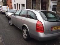 Nissan primera s.e 1.8 top of the range model may px