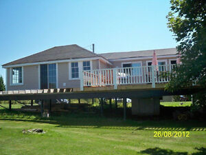 OCEAN-FRONT COTTAGES, SANDY BEACH, CARIBOU ISLAND, PICTOU COUNTY
