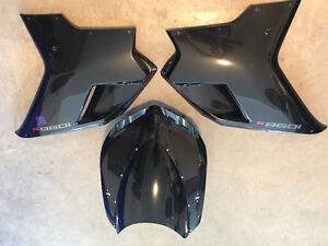 2008 Ducati 1098S Farings Set (Black)