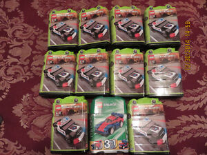 NEW LOT of 10 LEGO RACERS & 1 LEGO CREATOR