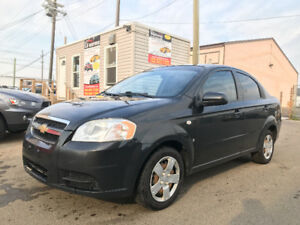 2008 CHEVROLET AVEO BASE TRIM HAS JUST 98009 KMS !