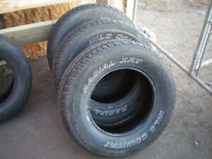 4 Wild Country Radial XRT II Tires * 235 70R16 106S * $120 for 4