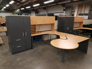 Used office suites.