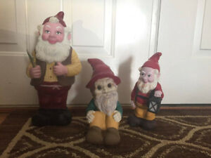 THREE SANTA'S LITTLE HELPER FOR SALE