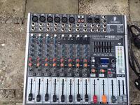 Behringer xenyx x1222usb 12 channel mixer