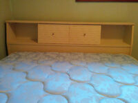3 Piece Bedroom Set with Bookcase Headboard ** NEW PRICE