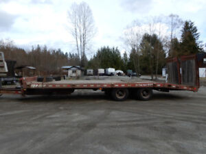 REDUCED!!! 2004 BWS  20 Ton Trailer