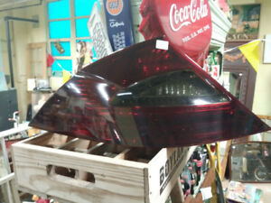 tail light for a 2012 MB CLS, left rear, tinted film
