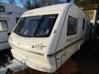 Elddis Crusader Sirocco 2000 5 Berth High Specification Touring Caravan