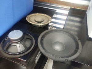 8 inch Guitar Speakers Ampeg and Traynor