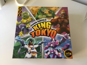 Assorted boardgames King of Tokyo, Mysterium