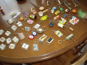 50+ Vintage to Now keychains