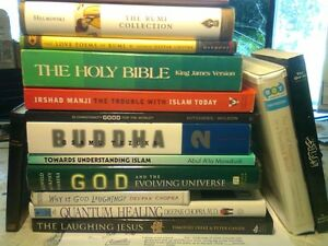 BOOKS/ CD's ABOUT RELIGIONS