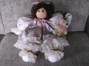 Hand-crafted Doll (for Little one or Elderly person?)
