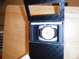 Guess by Marciano Steel lightly used watch