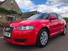 2008 AUDI A3 1.6 SPECIAL EDITION SPORTBACK 5DR MANUAL