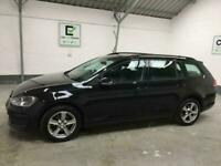 *buy from £32 per week* BLACK VOLKSWAGEN GOLF 1.2 S TSI BLUEMOTION TECH