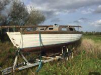 22ft Sailing Boat