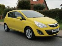 2012 Vauxhall Corsa 1.3 CDTi ecoFLEX EXCLUSIVE 5DR TURBO DIESEL HATCHBACK ** ...