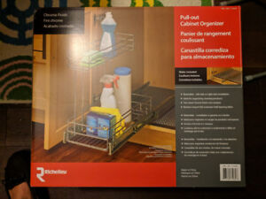 Brand New Pull Out cabinet storage
