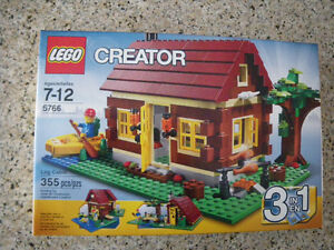 Lego Creator 5766 Log Cabin Set