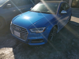 Audi S3 2017 lease take over
