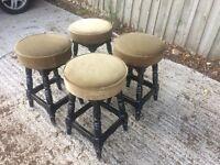 4 x Pub bar stools for sale