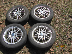 Rims from a Ford Focus