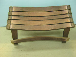 Wine Stave Bench For the Wine Enthusiast Strathcona County Edmonton Area image 3