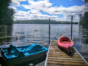 Newly Renovated Lake Opinicon Cottage Rideau Canal near Kingston