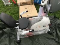 V-fit G-RC recumbent magnetic cycle exercise cycle RRP 189.99 new
