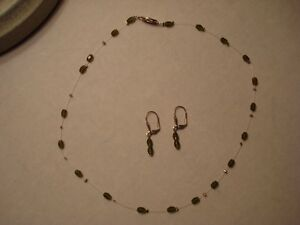 Ladies Necklace and matching Earrings. London Ontario image 1