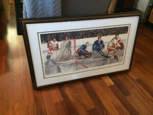 Signed Hockey limited edition print