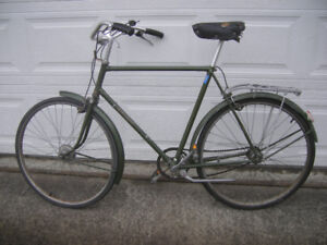 Old Raleigh Bicycle