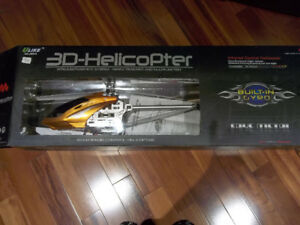 3D Helicopter  Fake metal   radio control