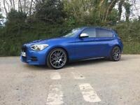 2012 BMW M135i MANUAL ONLY 32000 MILES ESTROIL BLUE FULL BMW SERVICE HISTORY
