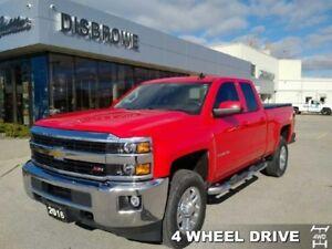 2016 Chevrolet Silverado 2500HD LT  Gas 2500, 4x4, Local Trade,