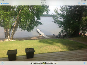 FOR RENT - beautiful lakefront cabin at Emma Lake