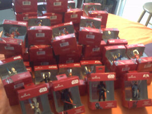 Hallmark Ornaments  $9.00 each- total=41  (Deal on lot)