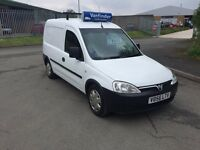 LOW MILAGE VAUXHALL COMBO ONLY £1995 NO VAT