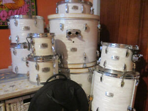 Pearl Export EXR 9 Pieces with 2 bass drums + Sabian B8 set