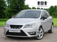 2013 SEAT IBIZA 1.4 CUPRA TSI DSG 3D AUTO 180 BHP, HEATED SEATS, PARK ASSIST